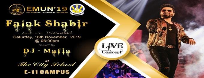 falak shabir & dj mafia live in islamabad