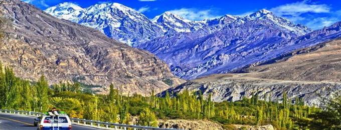 6 days trip to naran - hunza - pakchina border