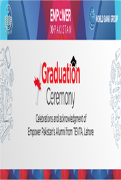 graduation ceremony of successful alumni - lahore