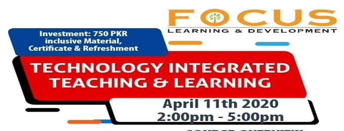 technology integrated teaching & learning