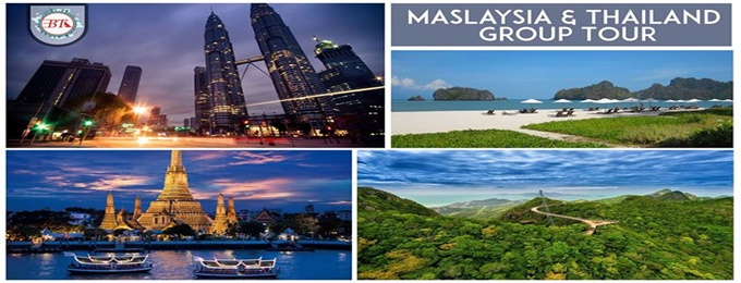 group tour to malaysia and thailand