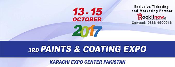 3rd Paints Coating and Decor Expo Karachi Pakistan