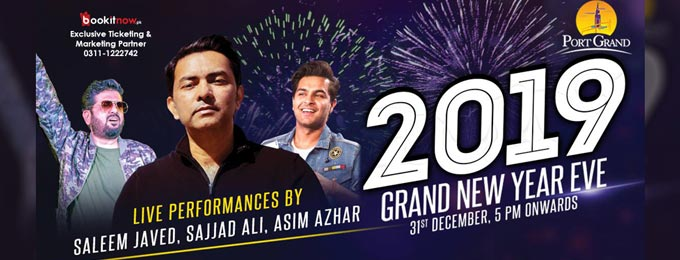 Grand New Year Eve 2019 at Port Grand