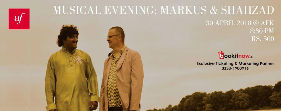 musical evening: markus & shahzad