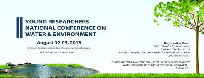 2nd young researchers national conference on water & environment