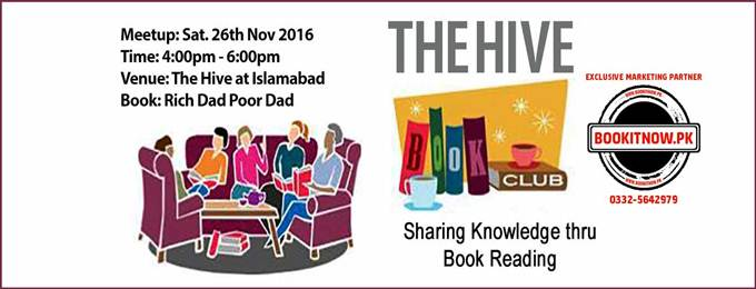 The Hive Book Club Meeting Islamabad