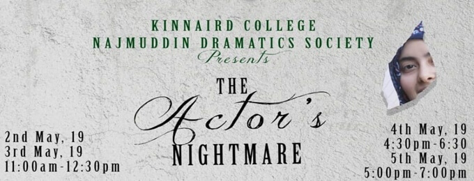 the actor's nightmare-annual play 2019