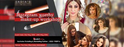 instagram worthy make-up workshop