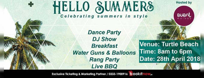 Hello Summers Beach Party