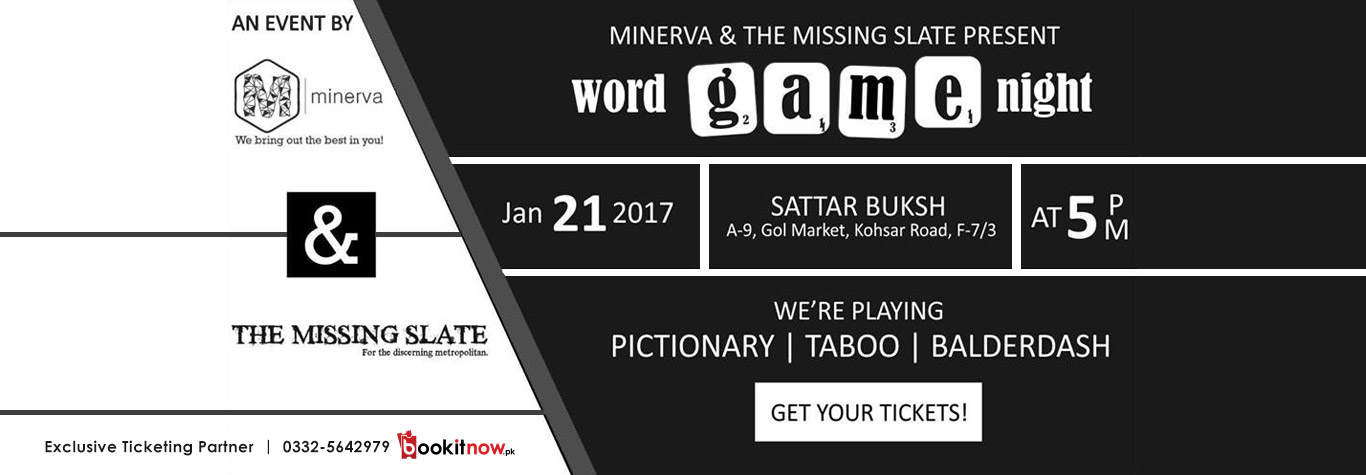 word games night! islamabad