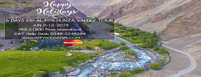 6 days hunza & naltar valley tour (hhpkgil19)