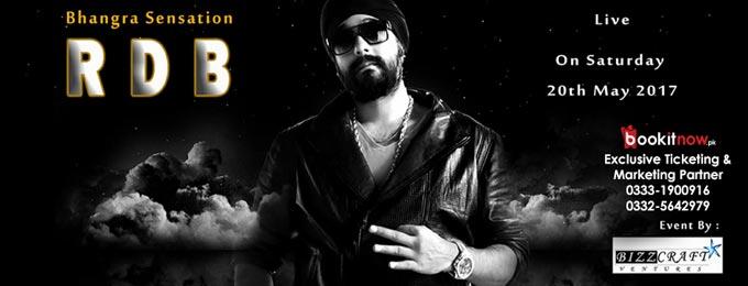 RDB- LIVE in KARCHI- Bhangra Sensation set to perform live