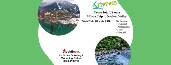 6 Days Trip to Neelam Valley