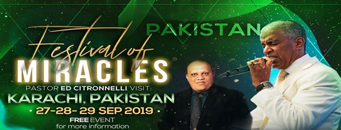 festival of miracles-karachi, pakistan
