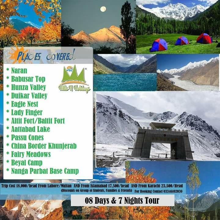 eid 3rd day tour to hunza valley, khunjarab & fairy meadows