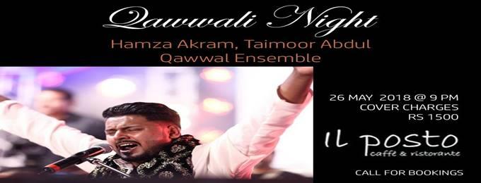 hamza akram qawwal @il posto