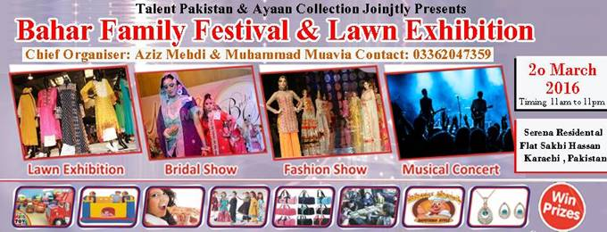 bahar family festival and lawn exhibition