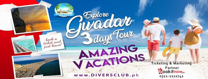 EXPLORE GAWADAR 3 DAYS TOUR
