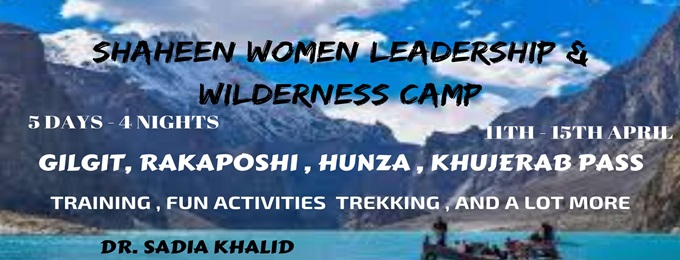 shaheen women leadership and wilderness camp