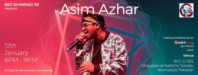Asim Azhar - Concert - Islamabad