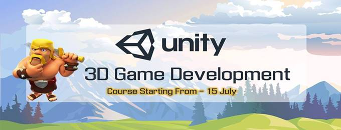unity 3d game development course