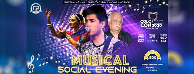 Musical Social Evening