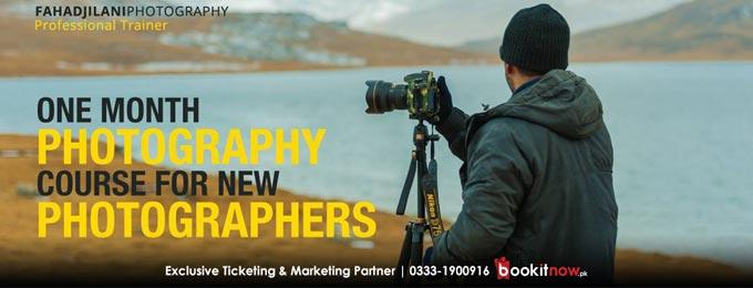 Fahad Jilani Photography Professional Training Session