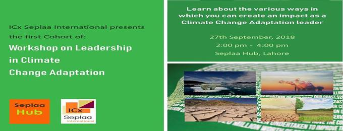 workshop on leadership in climate change adaptation