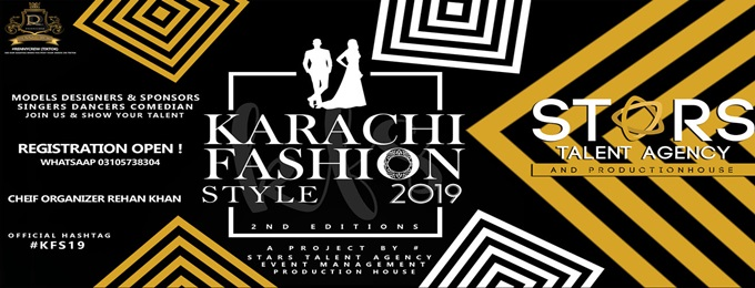 """karachi fashion style """"kfs19"""" 2nd edition"""