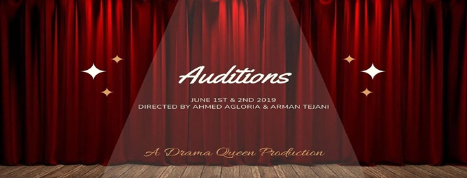 auditions - a theatre play!