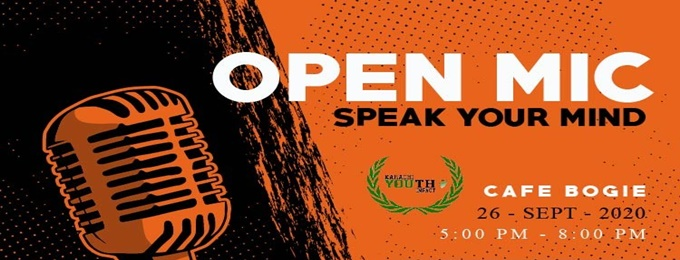 open mic session