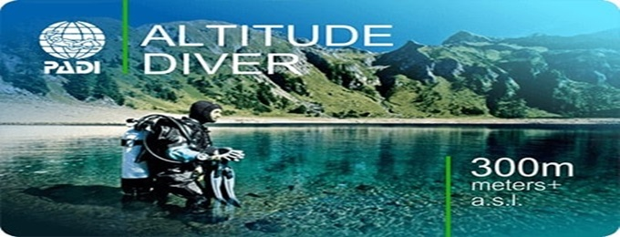 Specialty Course PADI Altitude Diver at Khanpur lake KPK