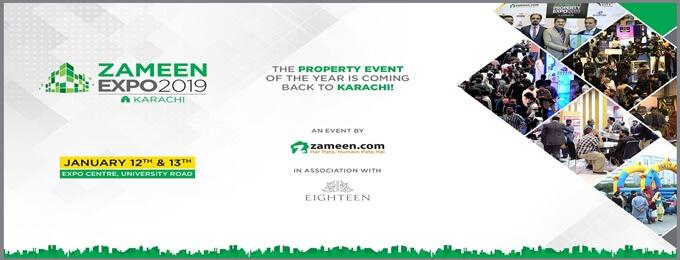 Zameen Expo 2019 - Karachi | Karachi - Bookitnow pk