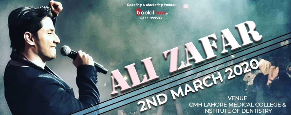 ali zafar live concert | cmh lahore