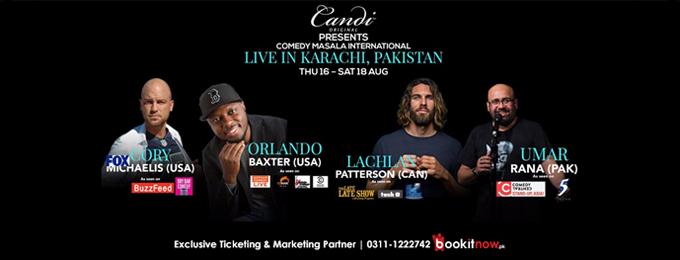 Comedy Masala International (Karachi) - August 2018