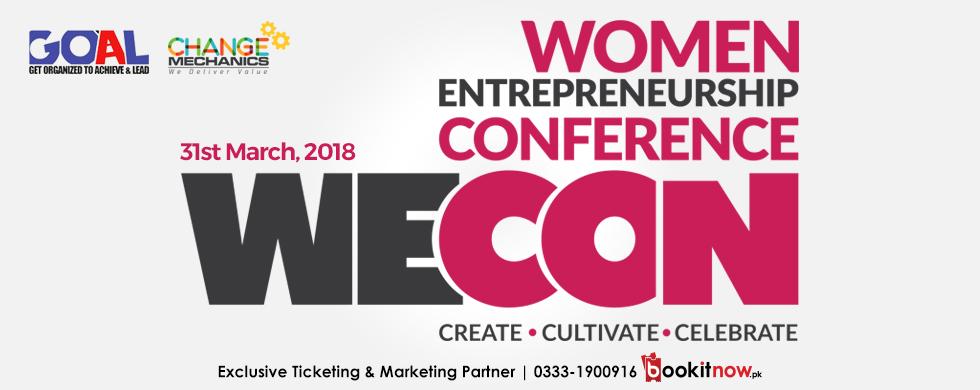 women entrepreneurship conference - wecon