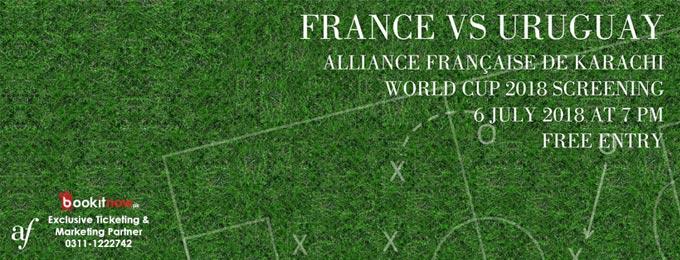 France vs Uruguay: World Cup Screening