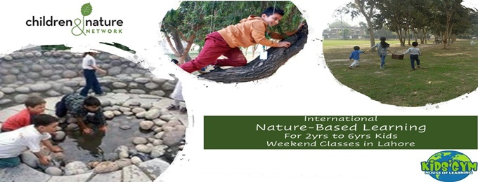 nature-based learning weekend classes for 2-6 years kids