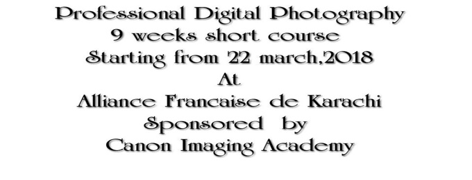 Professional Digital Photography Certification | Karachi - Bookitnow.pk
