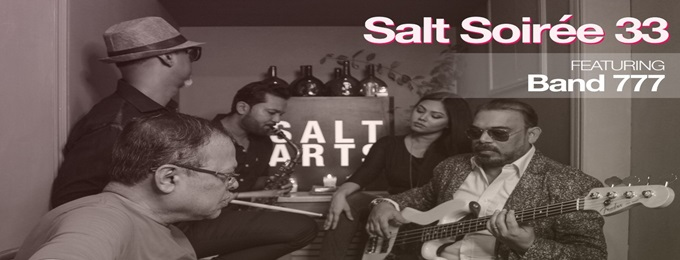 salt soiree 33: lenny massey and band 777