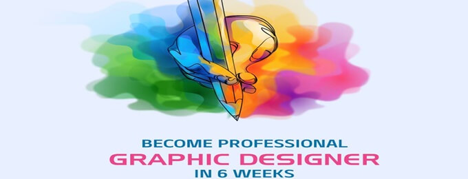 become freelancers with our graphic designing course in 6 weeks