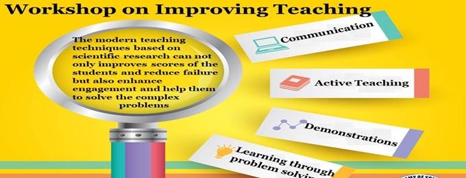 workshop on improving teaching