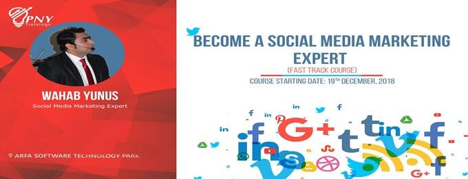 become a social media marketing expert course (arfa tower)
