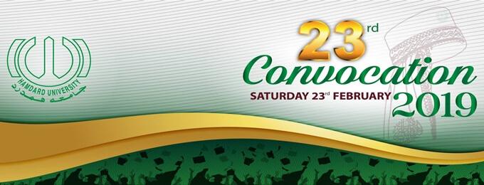 23rd convocation of hamdard university