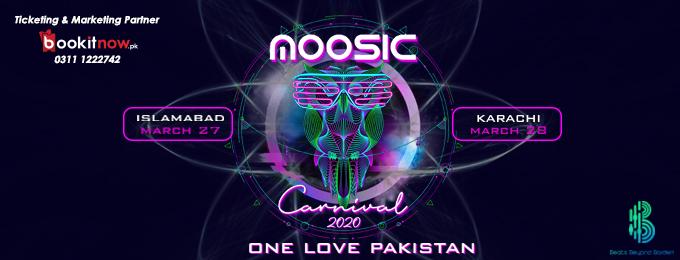 Moosic Carnival 2020-Karachi