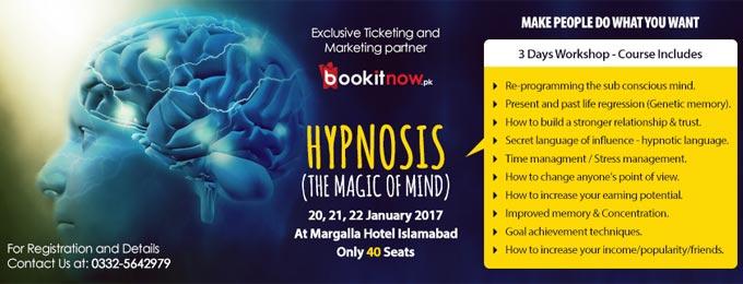Hypnosis Workshop Islamabad