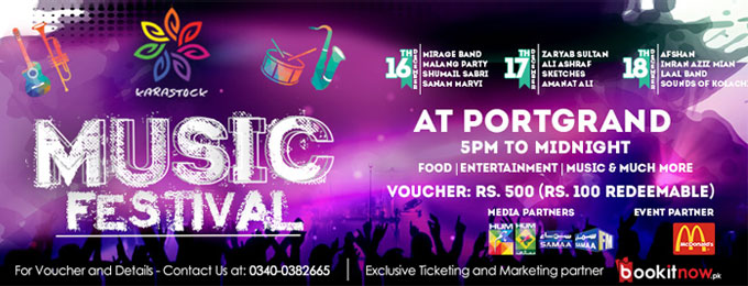 karastock music and food festival karachi