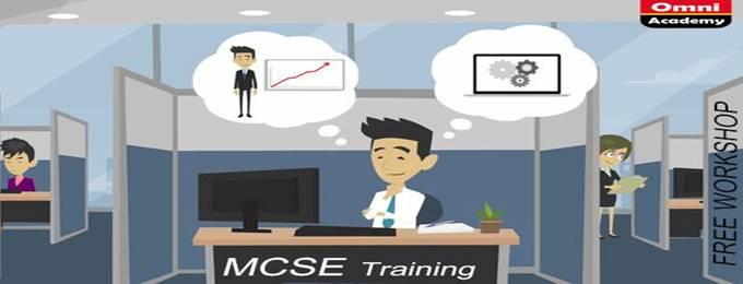 mcse training & certification - free workshop 31st mar,