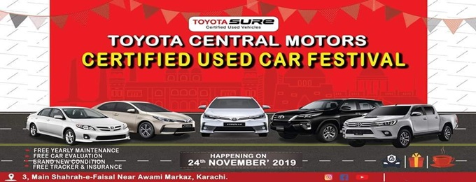 used car festival 2019