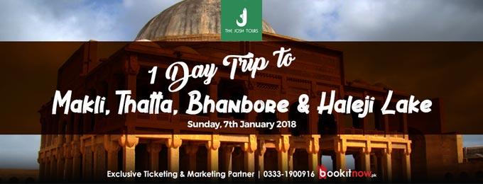 One Day Trip to MAKLI, THATTA, BHANBHORE & Haleji Lake